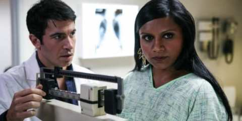 Mindy and Danny have a battle of willpower when he agrees to become her new gynecologist