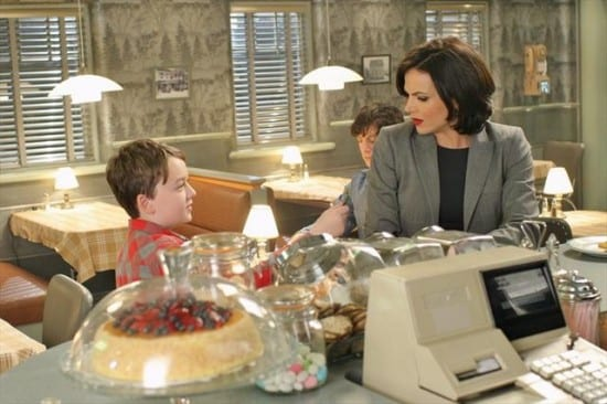 Regina (Lana Parrilla) realizes what she's missing.