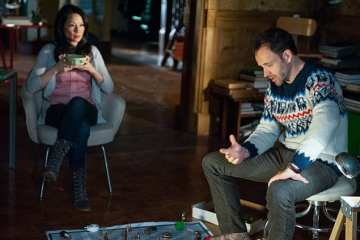 Joan (Lucy Liu) and Sherlock (Jonny Lee Miller) try and solve the latest case despite the blizzard.