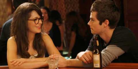 Jess (Zooey Deschanel) and her mystery prom boy (Dylan O'Brien) meet up again.