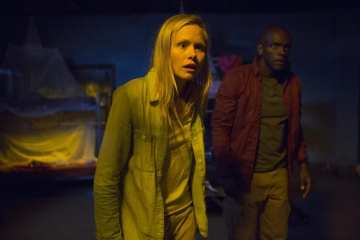 Maggie (Alison Pill) is caught in a dangerous situation.