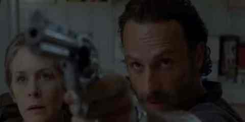 Rick (Andrew Lincoln) and Carol (Melissa McBride) take center stage this week as they deal with Carol's confession