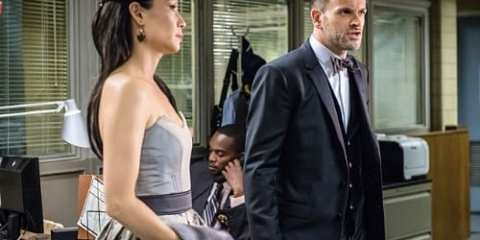 Joan (Lucy Liu) and Sherlock (Jonny Lee Miller) crack the case in a museum theft at the start of this weeks episode.