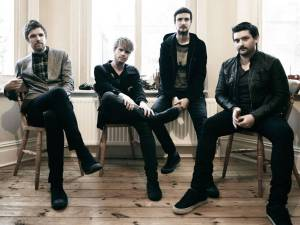 Kodaline in an interview with The Independent. Media credit to Independent.co.uk