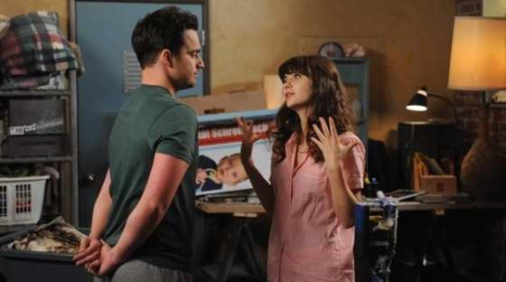 Jess (Zooey Deschanel) and Nick (Jake Johnson) discuss their future in this weeks episode of New Girl.