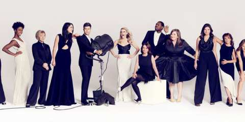 Glamour SNL Spread
