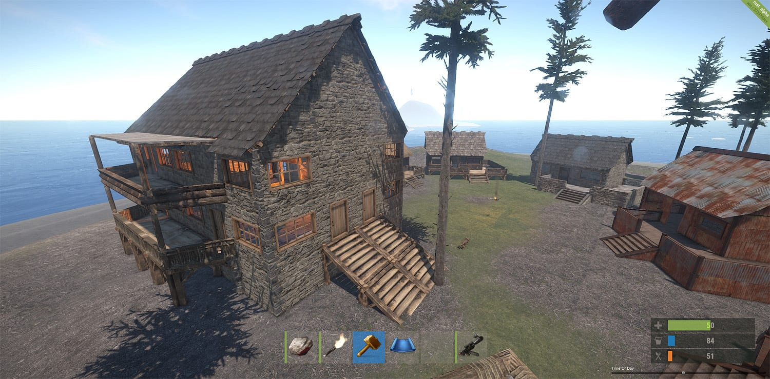 Early access spotlight rust blast for Realistic house design games