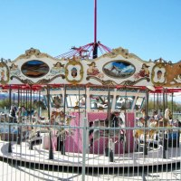 Going once, going twice: Lake Havasu City's vintage carousel from 1929