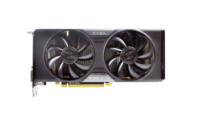 EVGA GeForce GTX 760 - 10 Best Graphics Card For Hackintosh 2015