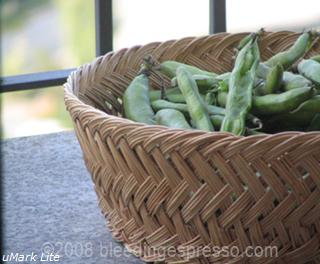Favas on the balcony on Flickr
