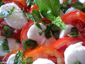 Caprese salad on Flickr