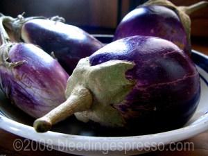 Eggplants/Aubergine/Melanzane