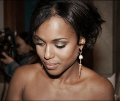 kerry washington brows