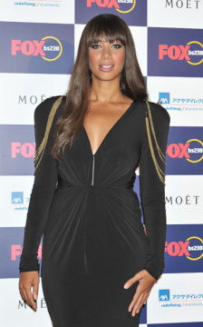 leona lewis pink cream blush at the Fox bs238 Gala Night at Tabloid on Septetmber 30, 2011 in Tokyo, Japan.  getty images