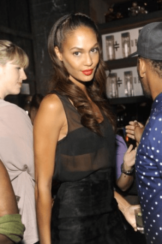 Supermodel Joan Smalls at Destination Iman Launch Party September 7 2012