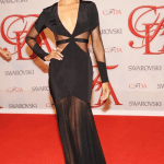 Zoe Saldana IN Prabal Gurung at CFDA Awards 2012
