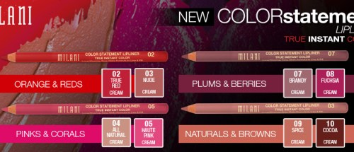 MILANI NEW STATEMENT LIPLINER