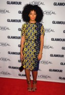 Solange at 22nd Annual Glamour Women Of The Year Awards wearing Derek Lam's Spring 2013 collection