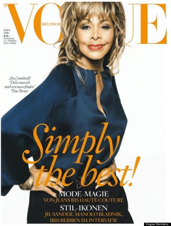Tina Turner Vogue Germany April 2013