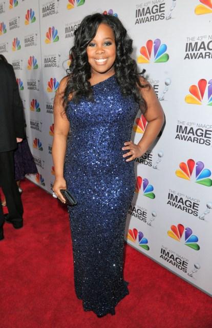 Amber Riley 2012 43rd NAACP Image Awards