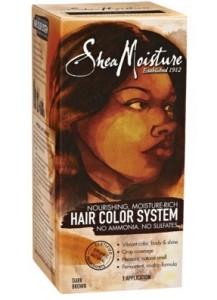 shea moisture dark brown