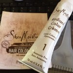 SheaMoisture Hair Color Collection Compenents