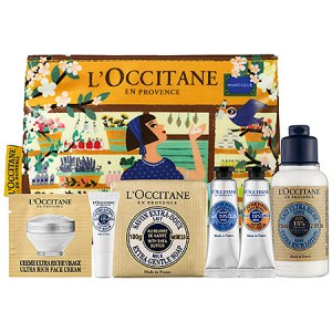 L'Occitane Shea Butter Head-To-Toe Discovery Kit