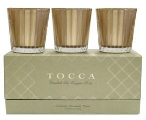 Tocca 'Candele da Viaggio' Holiday Candle Trio