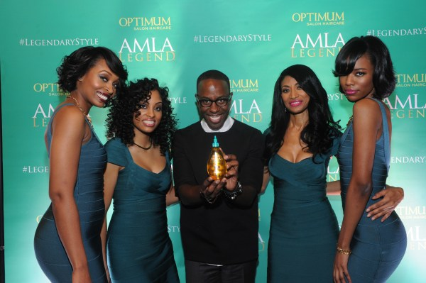 Johnny Wright with Models
