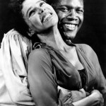 Sydney Poitier and Dorothy Dandridge in  Porgy and Bess