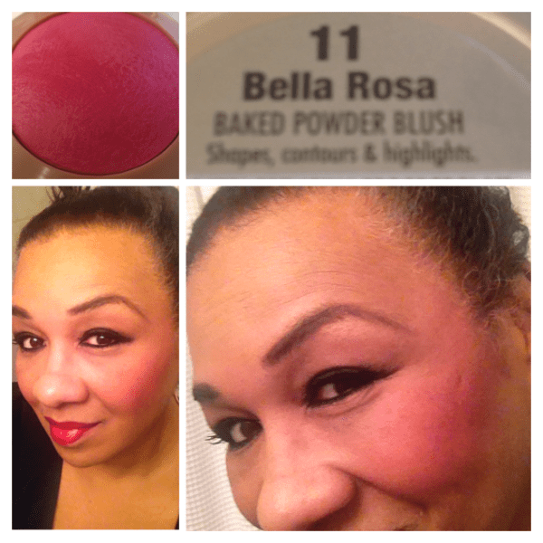 Milani Bella Rosa Baked Blush review and swatches blinging Beauty