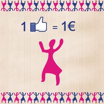 "L'occitane international women's day ""like"" on facebook"
