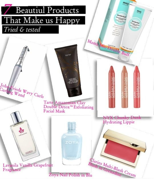 7 beautiful things that make us happy