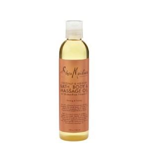 SheaMoisture Coconut Hibiscus Bath Body Massage Oil