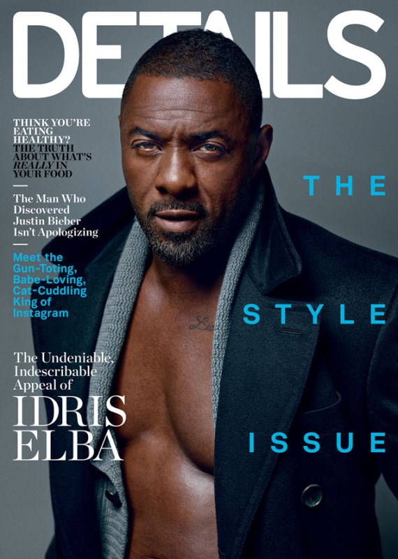 Idris Elba Details 2014 Style Issue Cover