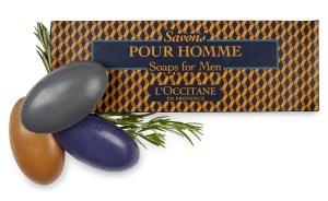 L'Occitane Soaps for men