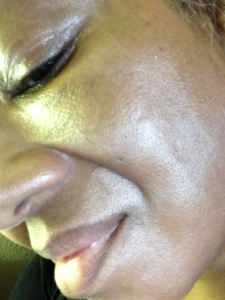 After BECCA Shimmering Skin Perfector