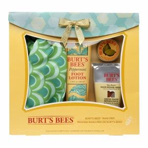 Burt's Bees Mani Pedi Holiday Gift Set