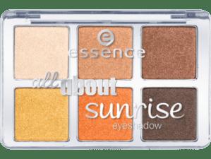 essence all about sunrise eyeshadow palette