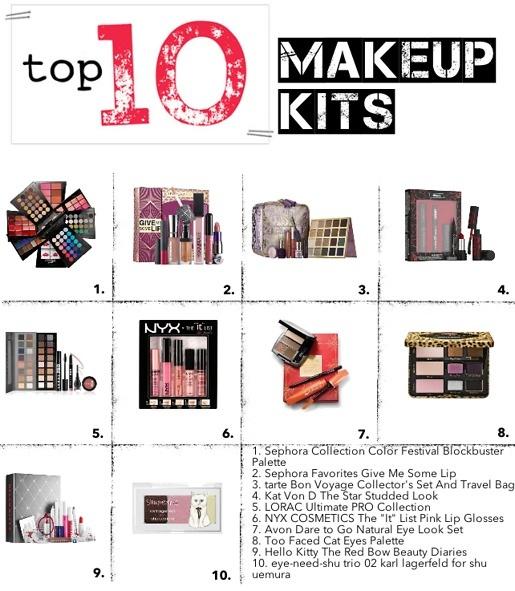 top 10 makeup kits