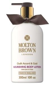 MOLTON BROWN London Oudh Accord & Gold Body Lotion