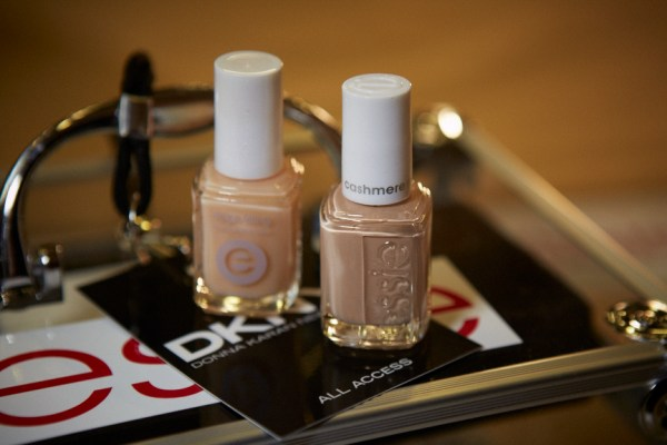 essie nail polish for DKNY Fall Winter 2015
