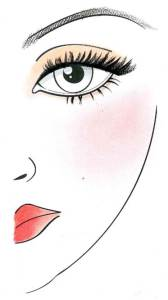 laura mercier face chart jenny packham