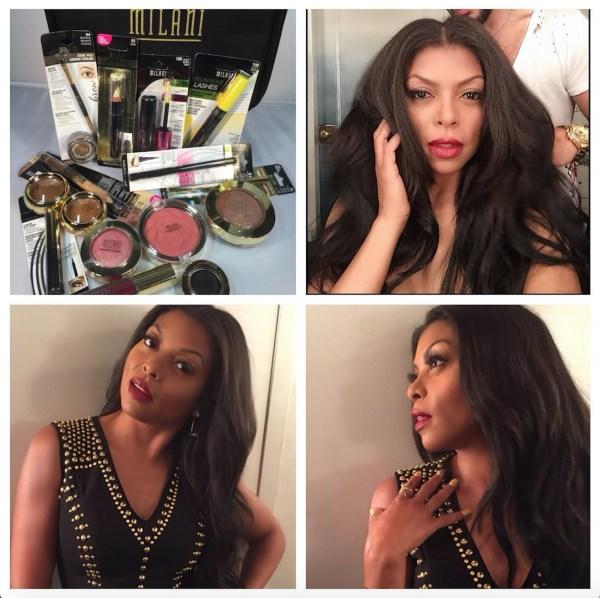 milani taraji makeup by ashunta sheriff jimmy fallon tonight show