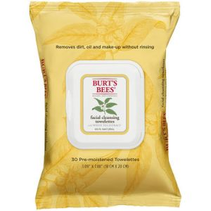 burts bees WhiteTea_Cleansing_Towelettes