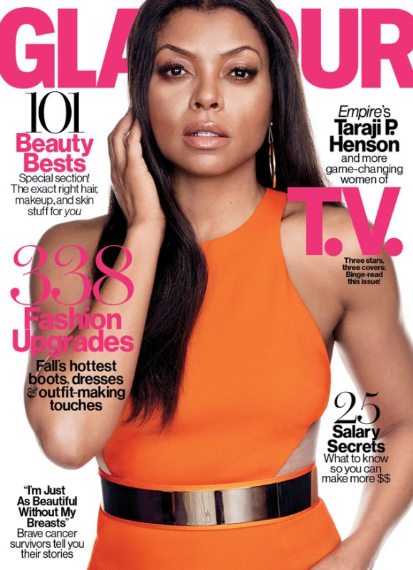 taraji p henson october glamour cover
