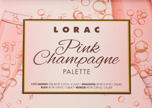 LORAC Limited Edition Pink Champagne Eye Shadow Cheek Palette