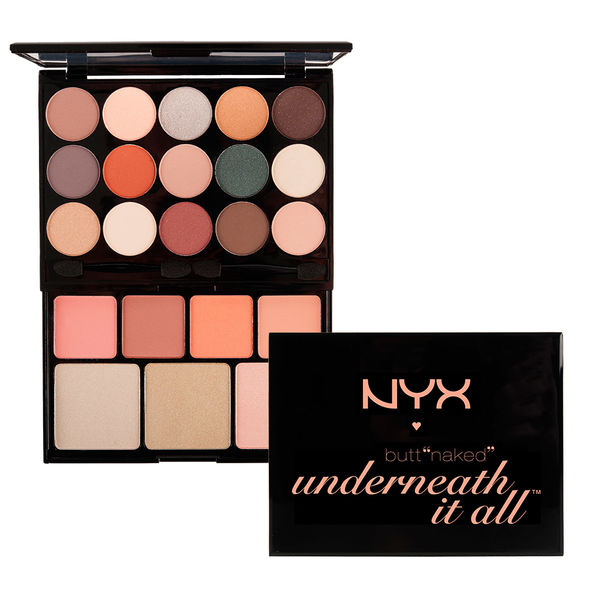 NYX butt naked underneath it all