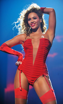 Beyonce' at 2009 MTV Europe Music Awards in Berlin
