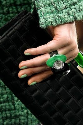 Chanel Jade Ring Photo Courtesy of Style.com